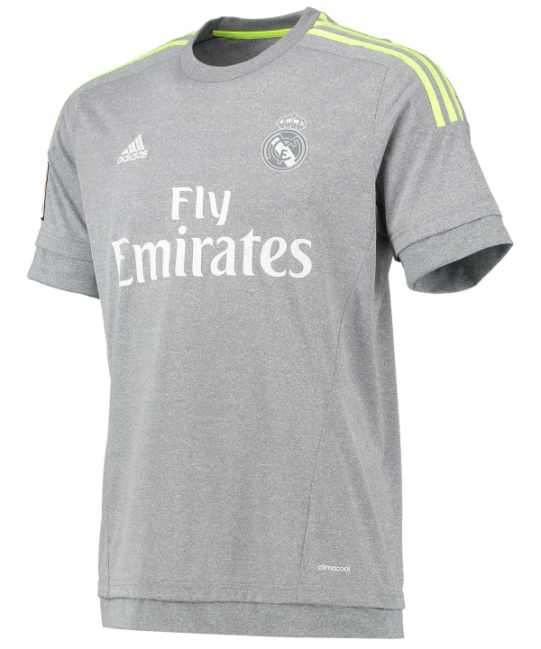 Grey Real Madrid Kit 15 16