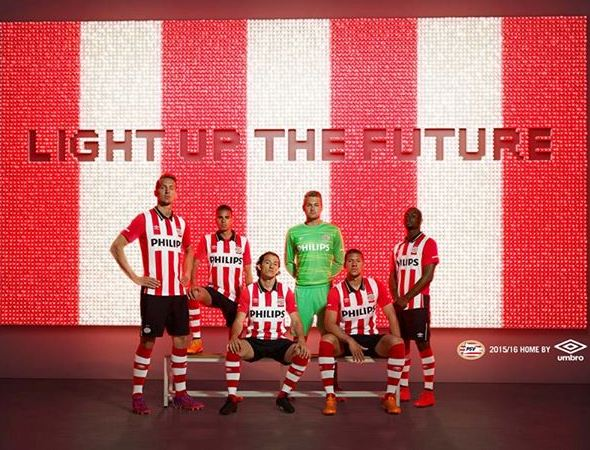 New PSV Jersey 2015-2016 PSV Eindhoven Umbro Kits 2015-16 Home Away