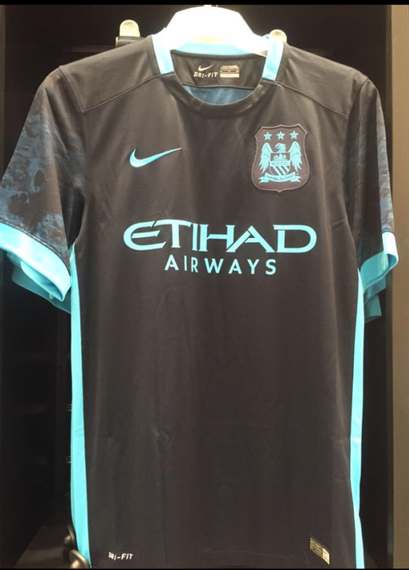 Leaked Man City Away Kit 15 16