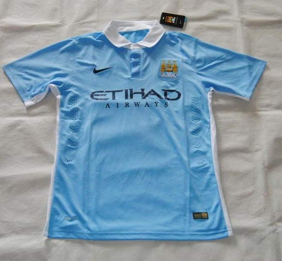 Leaked Man City Home Shirt 15 16