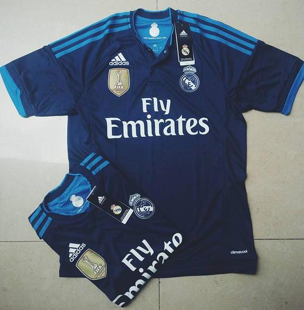 Leaked Blue Real Madrid Third Kit 2015-2016