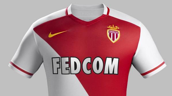 Monaco Home Shirt 2015 16