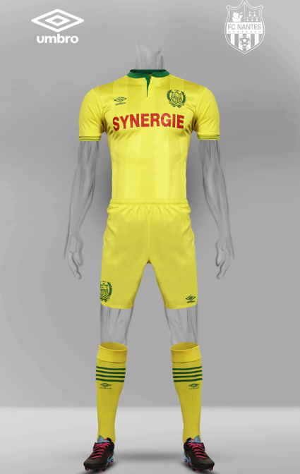 Nantes Umbro Kit 15 16