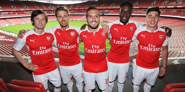 New Arsenal Kit 15 16