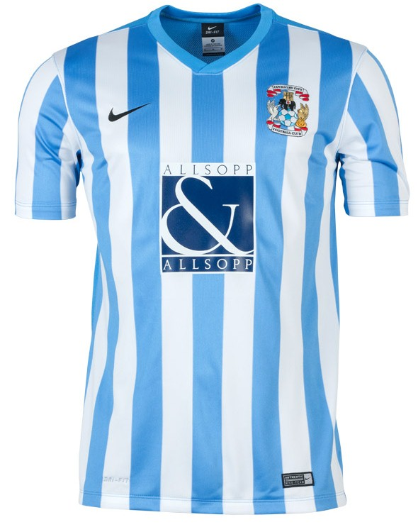 New Coventry Shirt 2015 16
