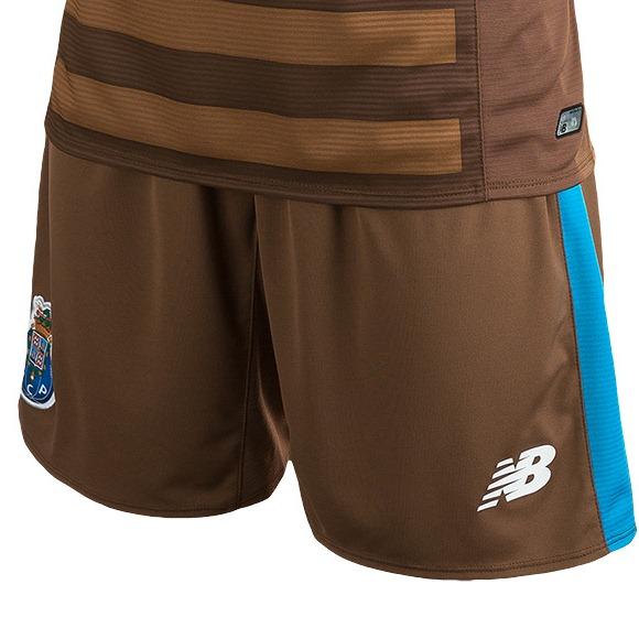 Porto Away Shorts 2015 16