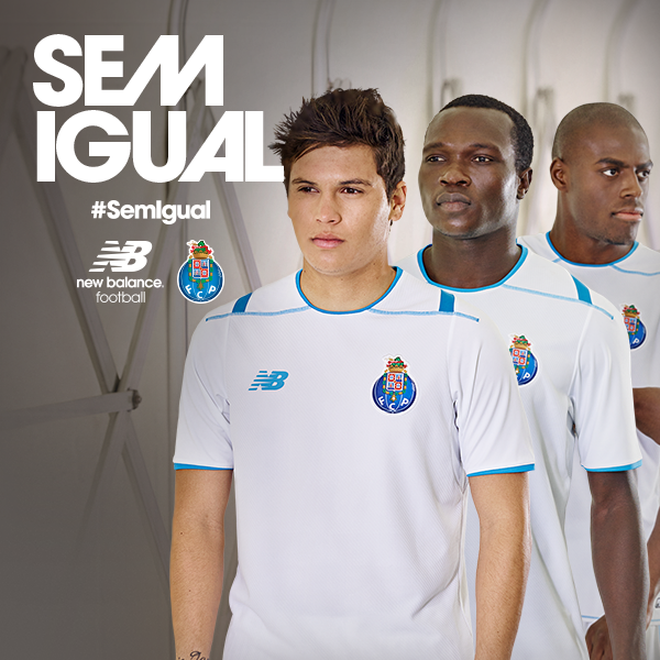 White Porto Third Shirt 2015-16 FC Porto New Balance Third Kit 15-16