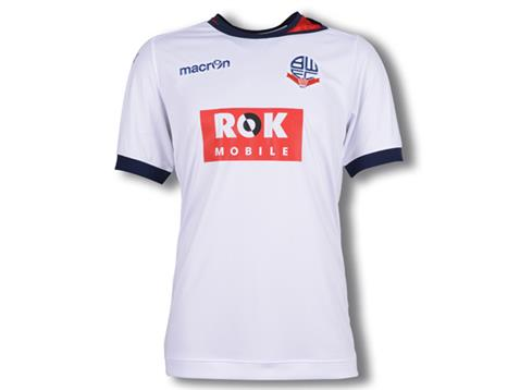 New Bolton Home Shirt 2015/2016- Bolton Wanderers Kit ROK Mobile Sponsorship