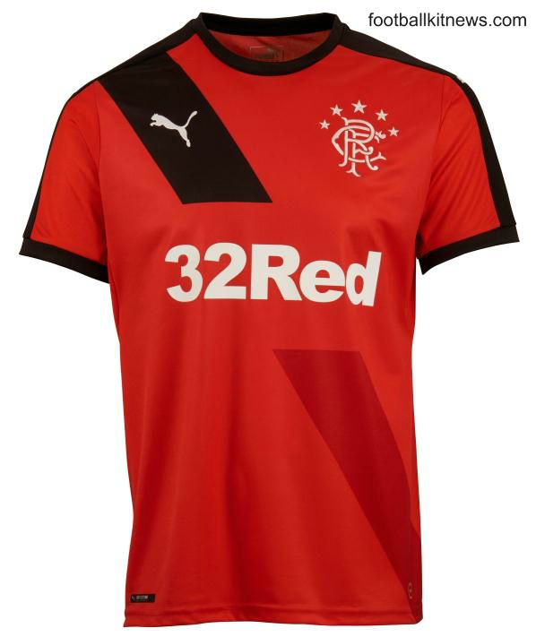 New Rangers Away Kit 15-16- Red Rangers Away Strip 2015-2016
