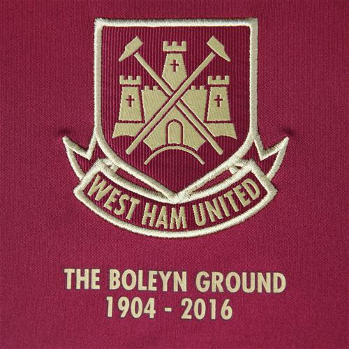 New West Ham Kit 15-16- WHUFC Umbro Boleyn Shirt 2015-2016