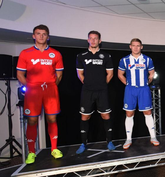 New Wigan Kit 2015-16- Kappa Wigan Athletic Shirts 15-16 Home Away Third