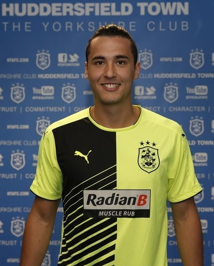 Yellow Huddersfield Town Shirt 2015-16 HTAFC Away Kit 15-16 Puma
