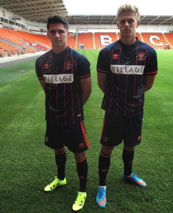 Blackpool Away Kit 15 16
