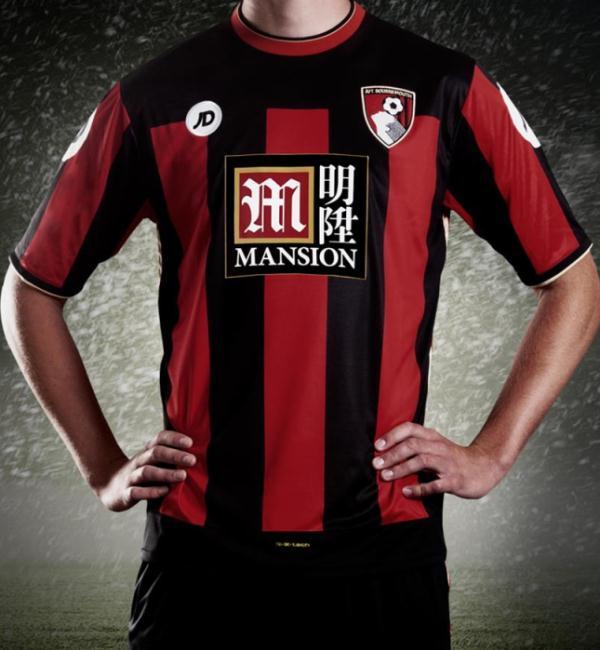 Bournemouth New Kit 2015 16