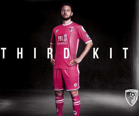 Bournemouth Third Kit 2015 2016