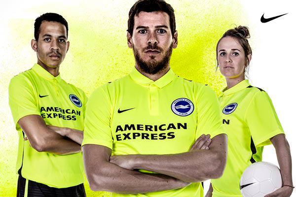 Brighton Away Kit 2015 16
