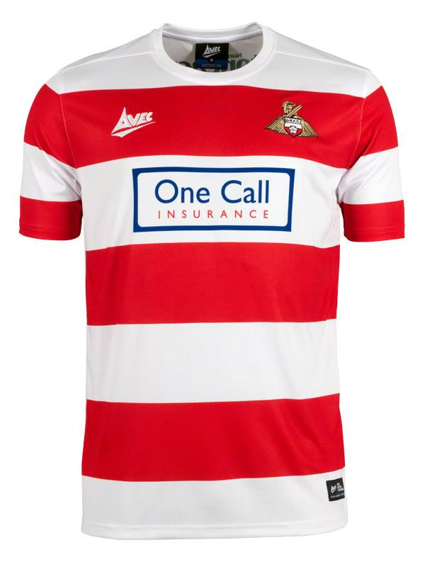 New Doncaster Rovers Kit 2015/16- DRFC Avec Home Shirt 15-16