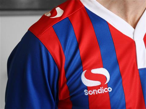 New Dagenham and Redbridge Kit 15-16 Dag & Red Sondico Home Shirt 2015-17