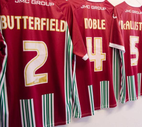 New Exeter City Third Kit 2015-16 Exeter Joma 3rd Shirt 15-16 Fluminense