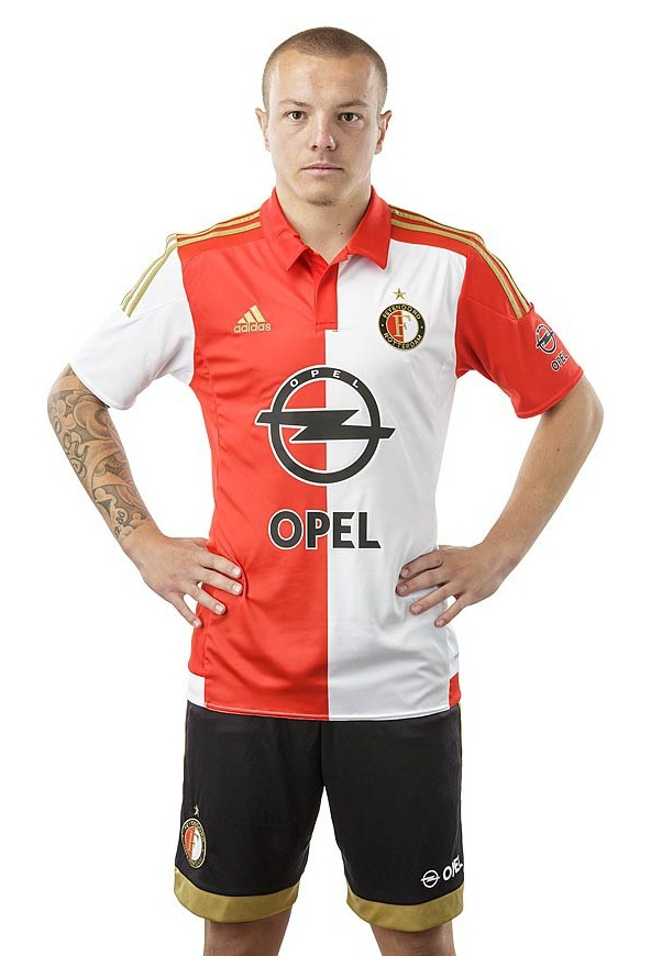 Feyenoord Home Kit 15 16