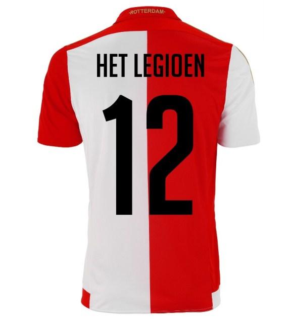 Feyenoord Home Shirt 15 16 Back