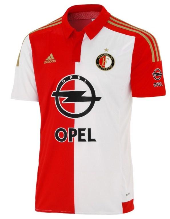 New Feyenoord Rotterdam Home Shirt 2015-2016 Adidas