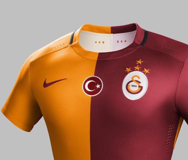 New Galatasaray Kit 15-16 Nike Gala Home Away Jerseys 2015-16