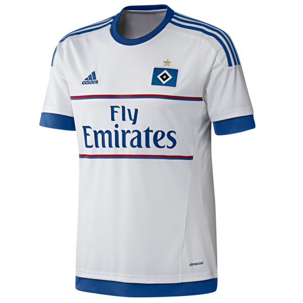 New Hamburg Kit 2015-16- Adidas HSV Home Jersey 2015-2016