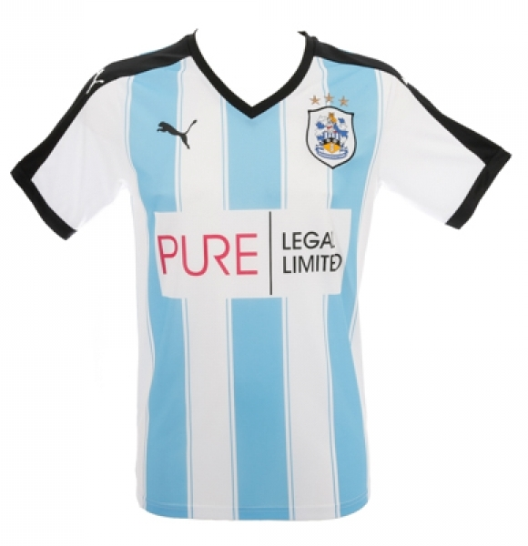 New Huddersfield Town Home Kit 15/16- Pure Legal Puma HTAFC Home Shirt 2015/16