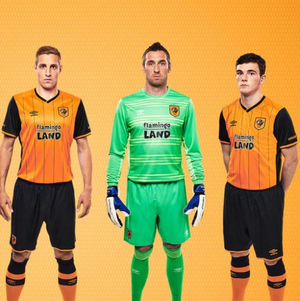 New Hull City Kit 2015/16- HCAFC Home Shirt 2015-2016 Flamingo Land Sponsor
