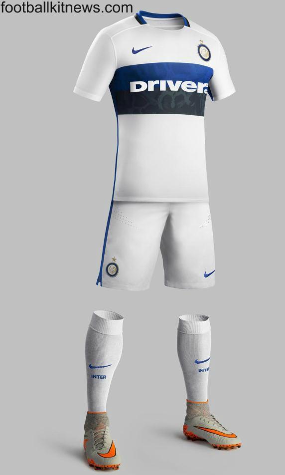 Inter Away Kit 15 16