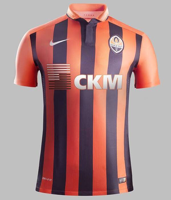 New Shakhtar Donetsk Jersey 2015/2016- Shakhtar Nike Home Shirt 15/16