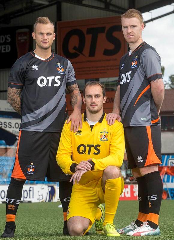 Kilmarnock Away Kit 2015 16