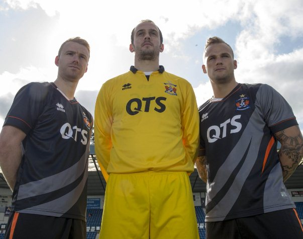 New Kilmarnock Away Top 2015-2016- Killie FC Alternate Kit 15/16 Errea