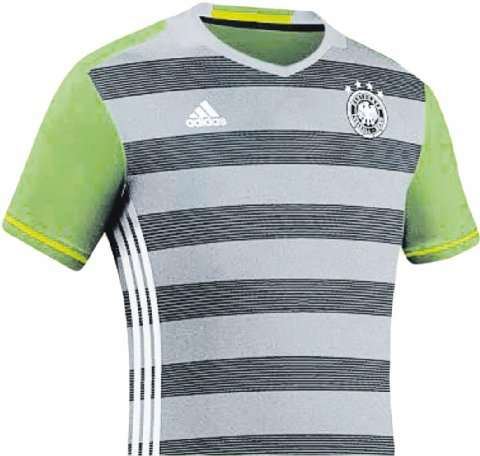 Leaked Germany Euro 2016 Kits by Adidas- Home & Away