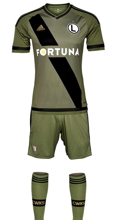 Legia Away Kit 2015 2016