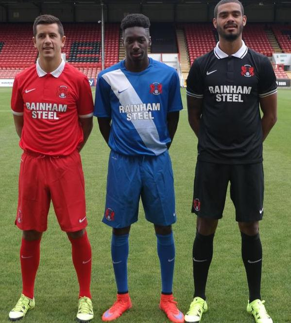 New Leyton Orient Kits 15/16- Nike LOFC Home Away Third Shirts 2015/16