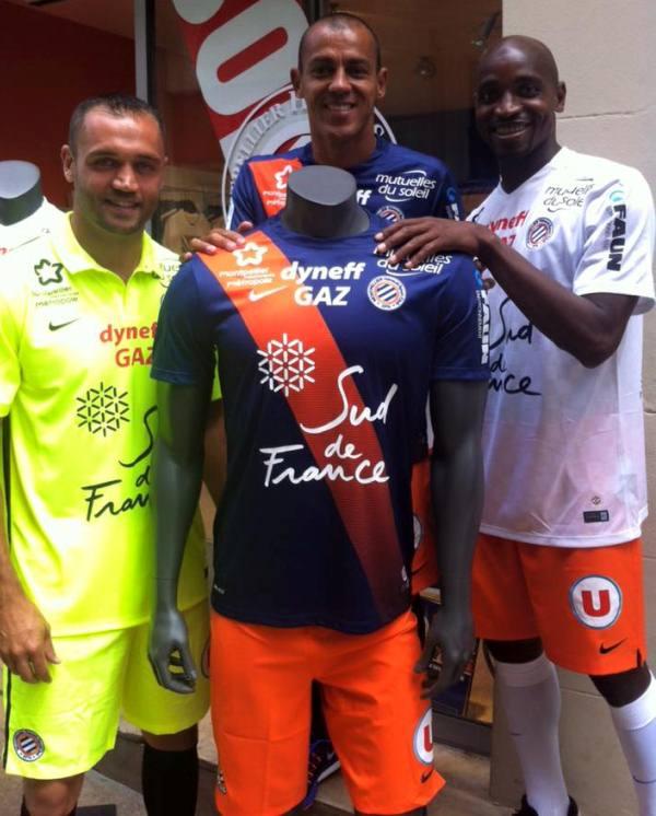 Montpellier Home Kit 2015 16