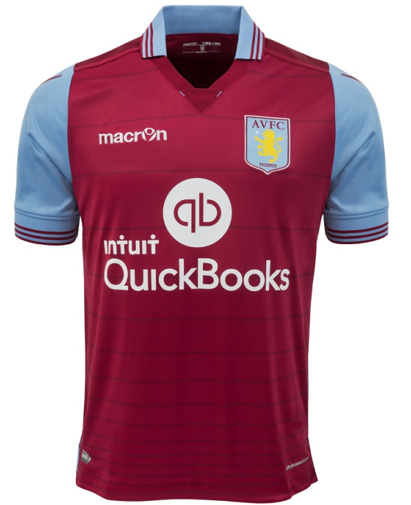 New AVFC Home Shirt 2015 16