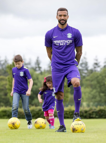 New Hibs Away Kit 15 16