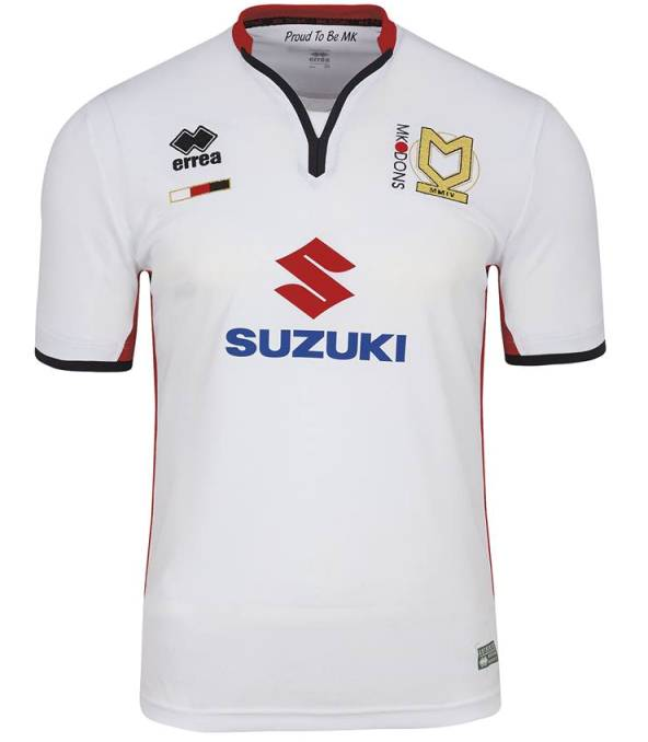 New MK Dons Kit 2015 16