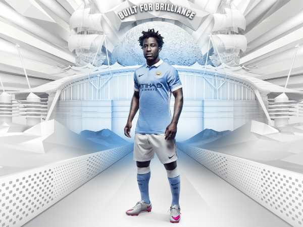 New Man City Kit 2015-2016- Manchester City Nike Home Shirt 15/16