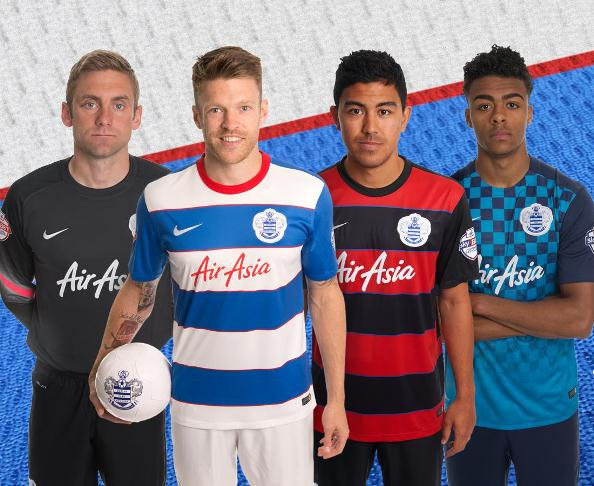 New QPR Kit 2015-2016- Queens Park Rangers Shirts 15/16 Home Away Third