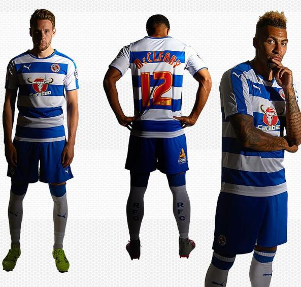 Reading FC New Kit 2015/16- Carabao Reading Home Shirt 15/16