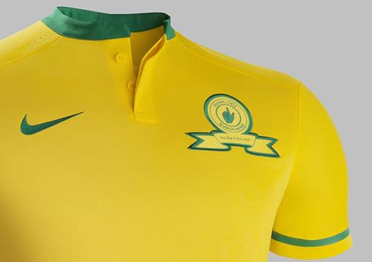 New Mamelodi Sundowns Jersey 2015-16 Nike Masandwana Home Kit 2015-2016