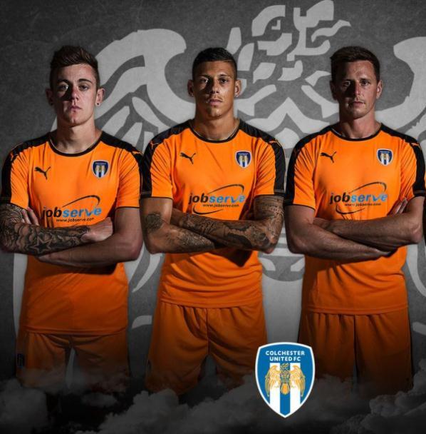 Orange Colchester United Away Kit 2015/16 Puma