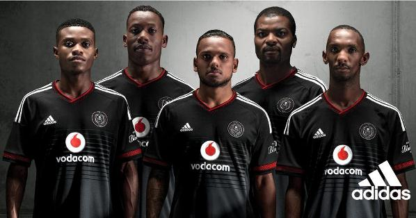 Orlando Pirates New Home Jersey 15-16 Adidas OPFC Home Shirt 2015-16