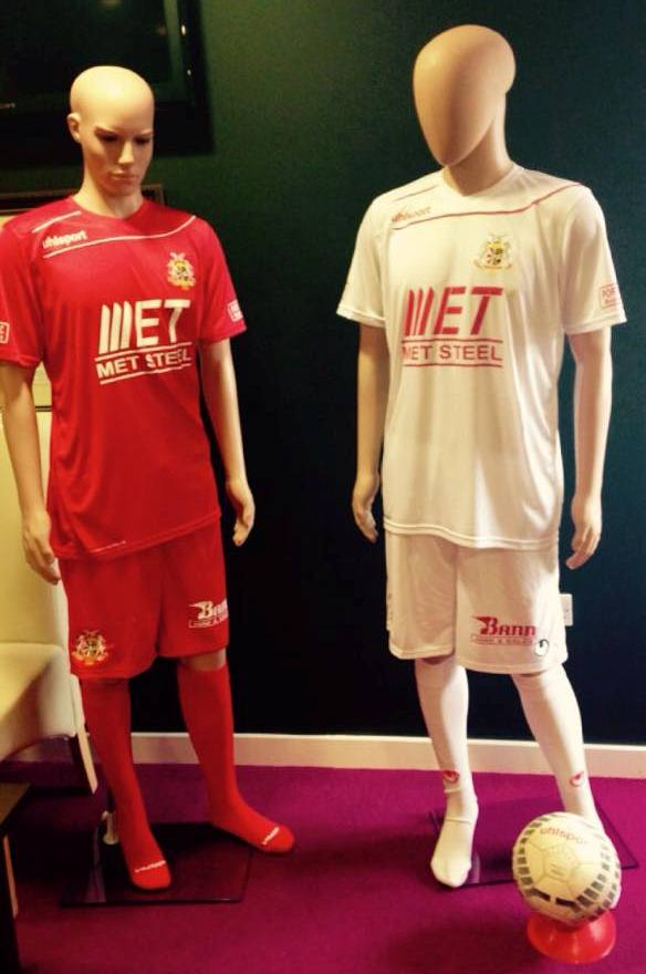 New Portadown FC Uhlsport Kits 2015-16 Home Away Jerseys 15-16