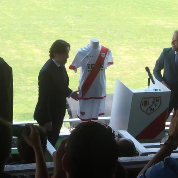 Rayo Vallecano Home Kit 15 16