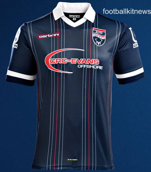 New Ross County Kit 2015/16- Ross County FC Strips 15-16 Home Away Carbrini